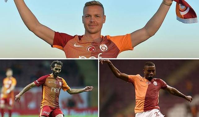 Galatasaray 3 oyuncuyla yollarını ayırıyor
