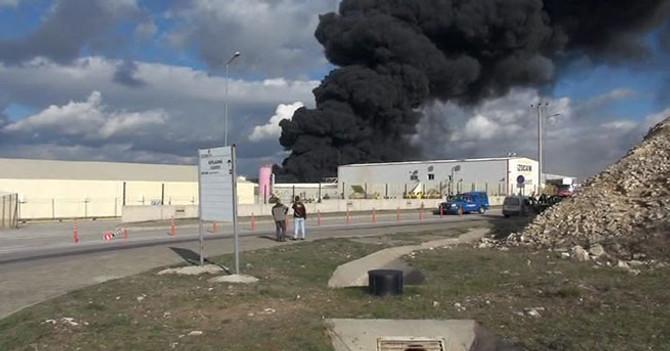 Kocaeli'de büyük yangın