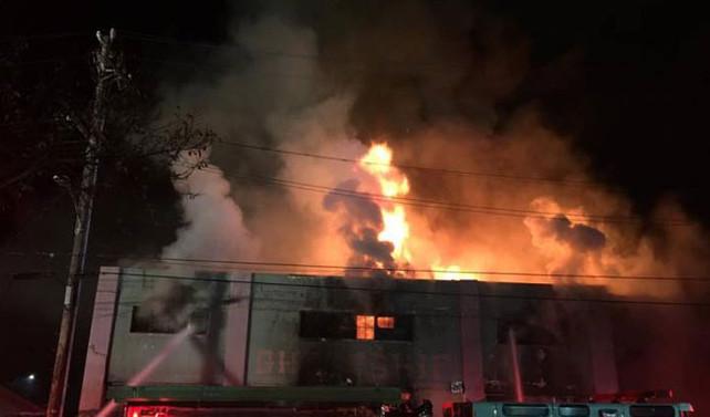 ABD'de konser sırasında yangın: 9 ölü