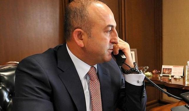 Çavuşoğlu, Stoltenberg ile telefonda görüştü