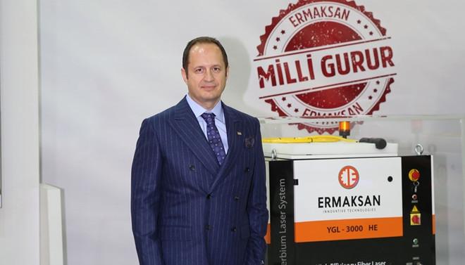 Bursa'da lazer ışın kaynakları fuara damga vurdu