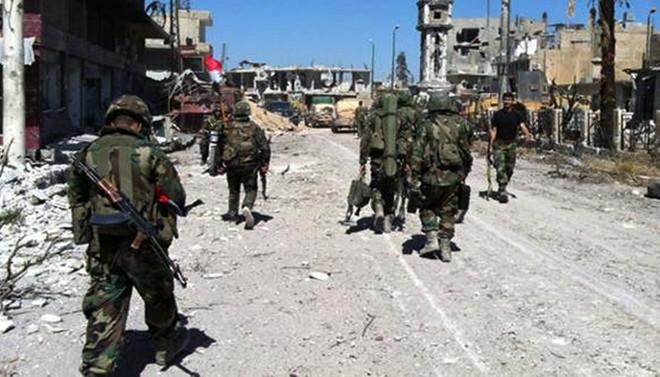 Suriye ordusu Eski Kent'i ele geçirdi