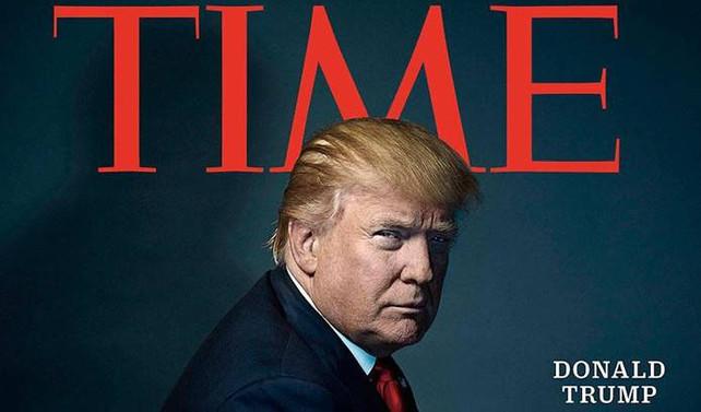 Time dergisi Donald Trump'ı 'Yılın Kişisi' seçti