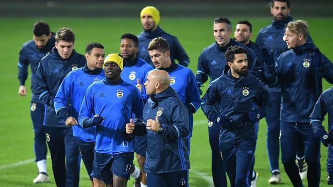 Fenerbahçe, Feyenoord maçına hazır