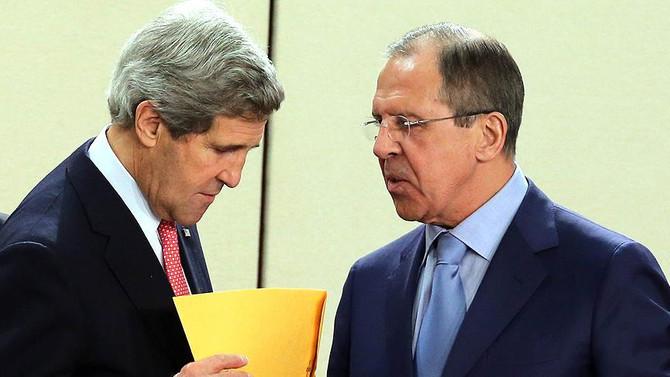 Kerry ile Lavrov Halep'i görüştü
