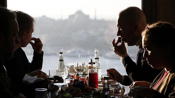 Gurmeler, İstanbul'a hayran kaldı