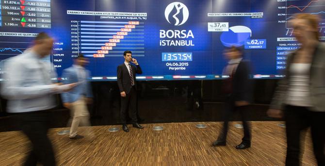 Borsa 1000 puan düştü