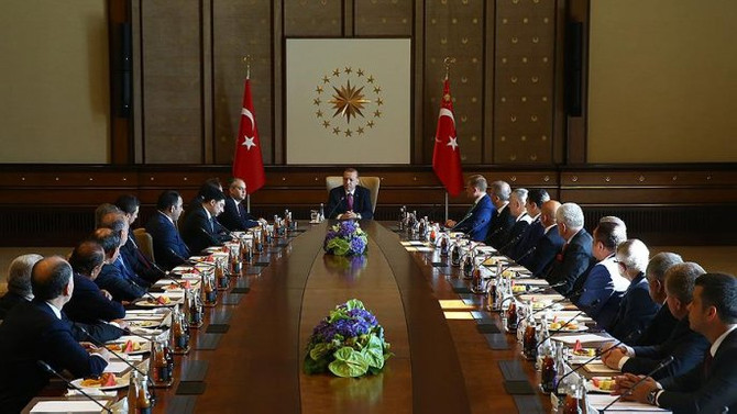 Erdoğan Kulüpler Birliği heyetini kabul etti