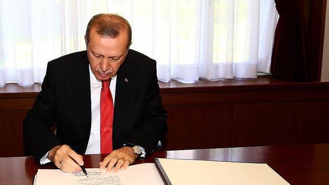 Cumhurbaşkanı, İsrail- Türkiye anlaşmasını imzaladı