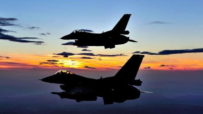 TSK, IŞİD'e ait 25 hedefi vurdu