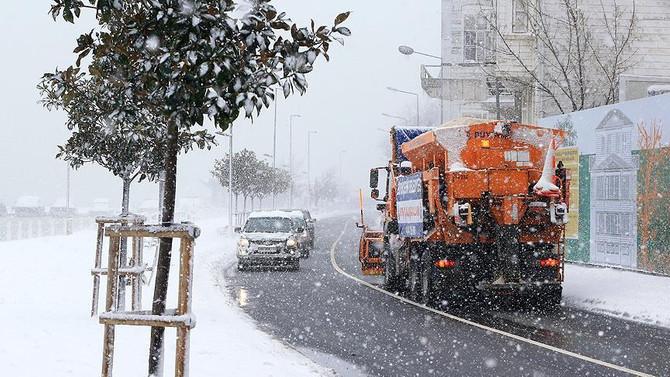Karla mücadelede 136 bin ton tuz kullanıldı