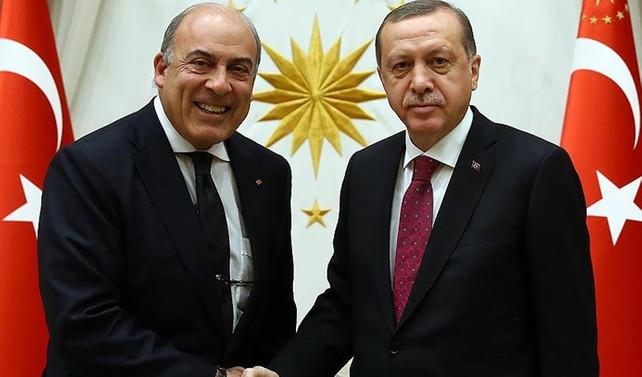 Erdoğan Coca Cola'nın CEO'su Kent'i kabul etti