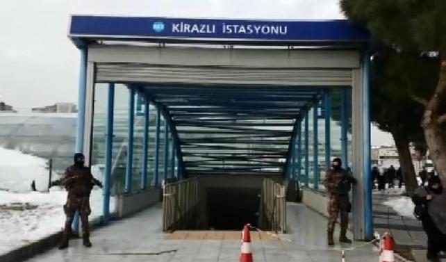 Metroda 'Reina saldırganı' alarmı