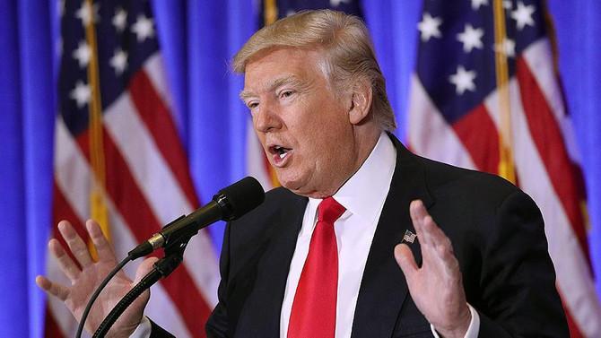 Trump'tan ilk basın toplantısı