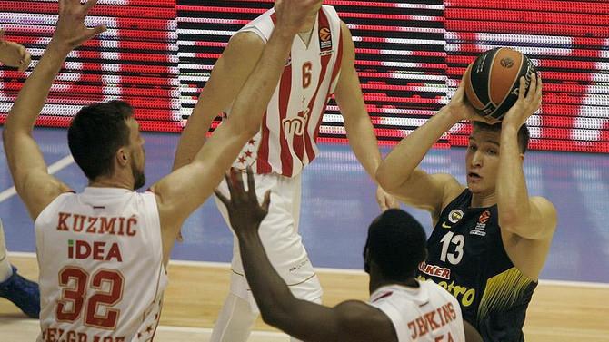 Fenerbahçe, deplasmanda Kızılyıldız'a yenildi