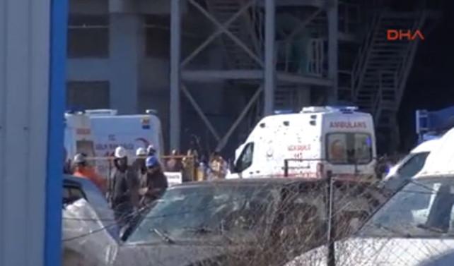 Fabrikada patlama: 1 ölü