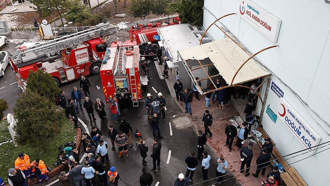 Şişli Etfal'de yangın çıktı
