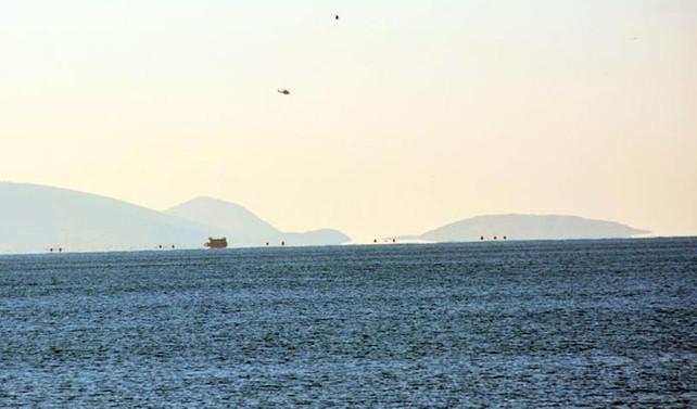 100 göçmeni taşıyan tekne alabora oldu