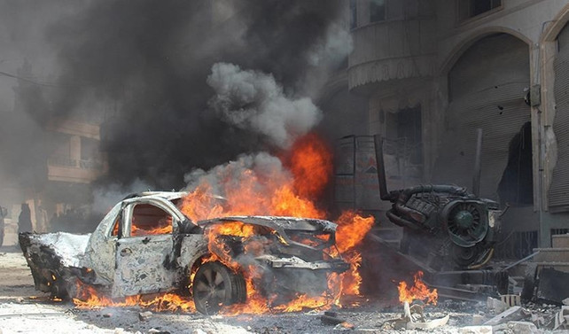 El Bab'ta ÖSO'ya bombalı saldırı: 12 ölü