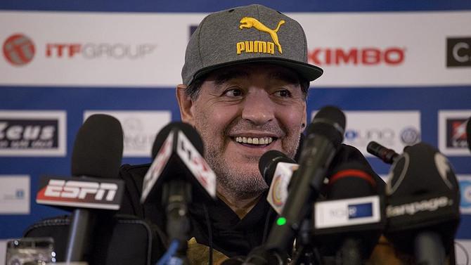 Maradona'dan Pele'ye gönderme