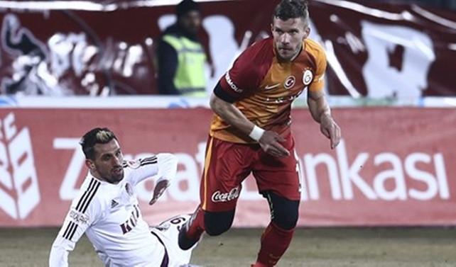 Galatasaray Elazığ'dan 4 golle 3 puanı aldı