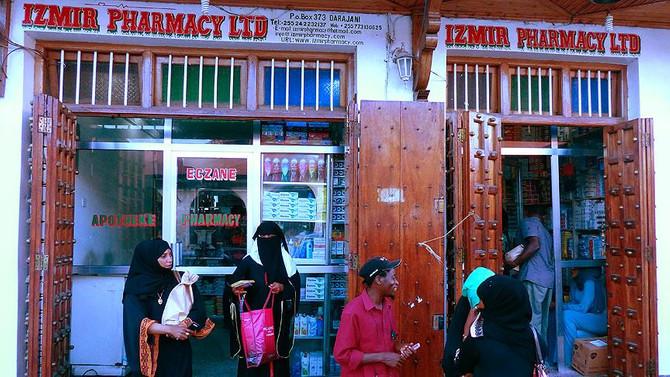 Zanzibar Adası'nda 'İzmir Eczanesi'