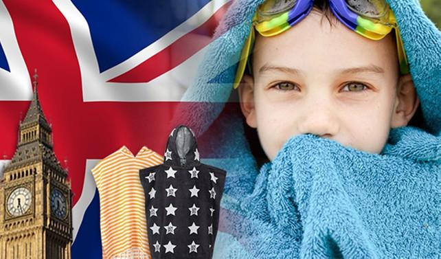 İngiltere'den kapşonlu çocuk pançosu talep ediliyor