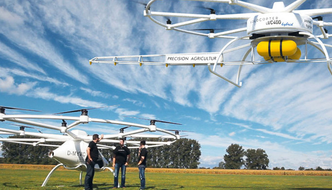 İlk ticari drone üretildi