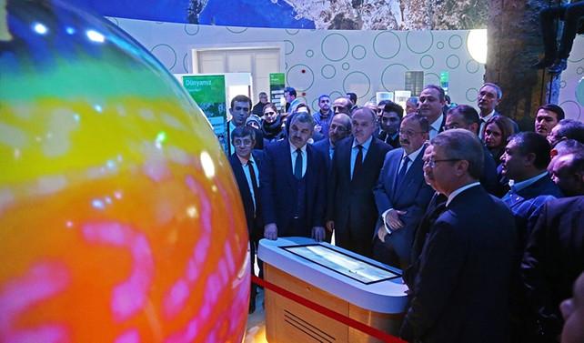 Türkiye'nin 5'inci bilim merkezi Kayseri'de açıldı