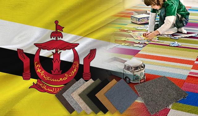 Brunei'de Türk malı halılar talep ediliyor