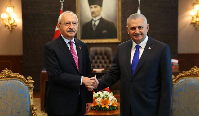 Kılıçdaroğlu, Başbakan Yıldırım'ı aradı
