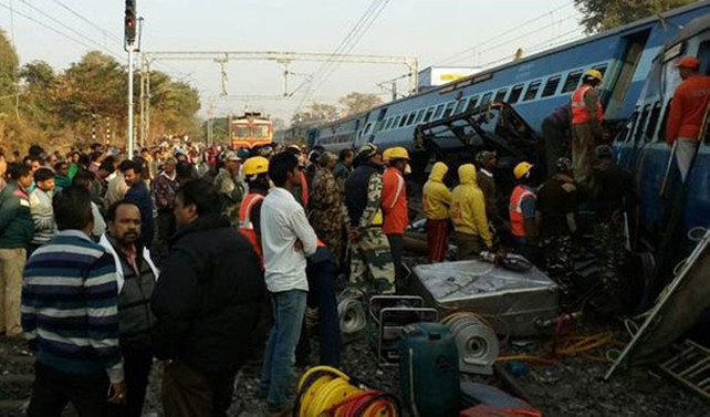 Hindistan'da tren faciası: 27 ölü