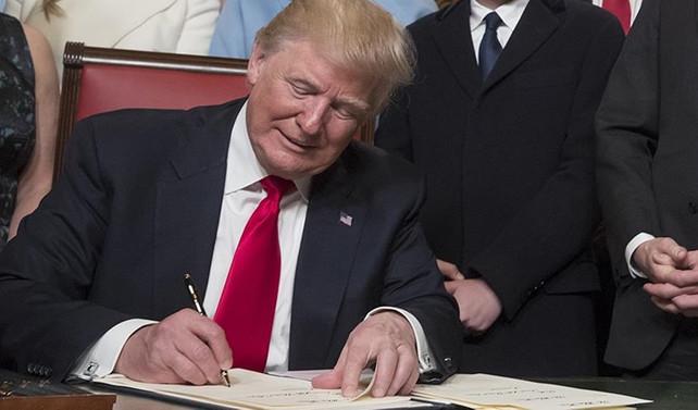 Trump, Trans-Pasifik Ortaklığı'na son verdi