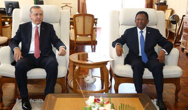 Madagaskar ile 4 anlaşma imzalandı