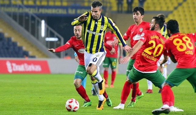 Fenerbahçe 3 puan aldı