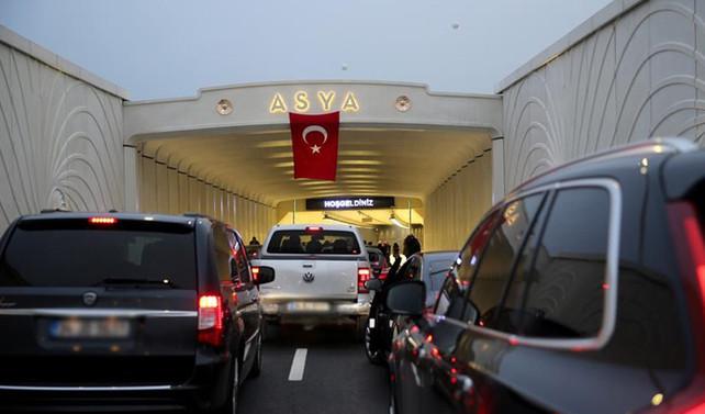 Avrasya Tüneli, 24 saat hizmet vermeye başlıyor