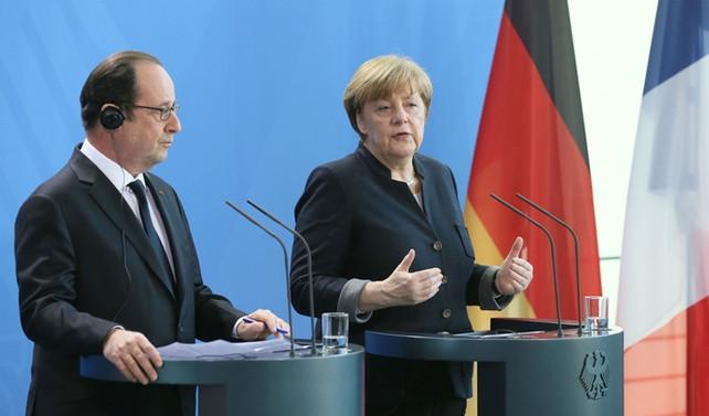 Merkel ve Hollande, AB'nin geleceğini konuştu