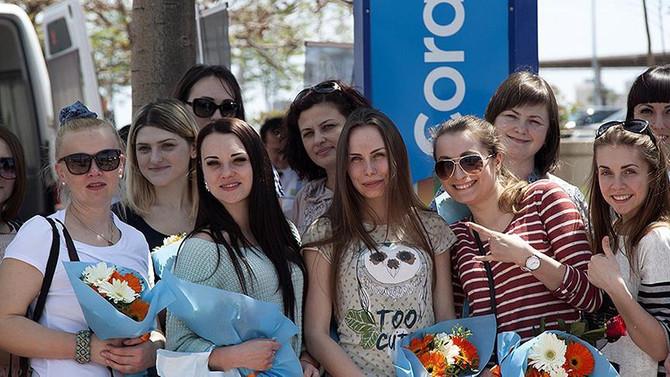 'Rus turistin tercihi yine Türkiye'