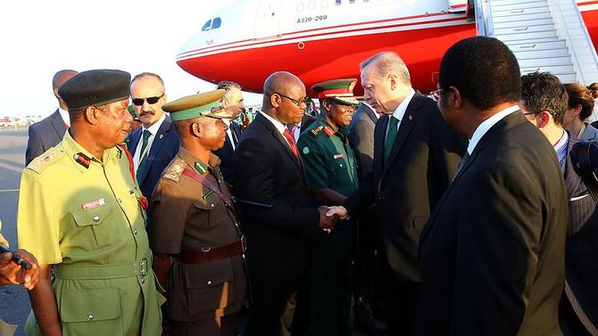 Erdoğan'ın Afrika ziyaretinde 19 anlaşma imzalandı