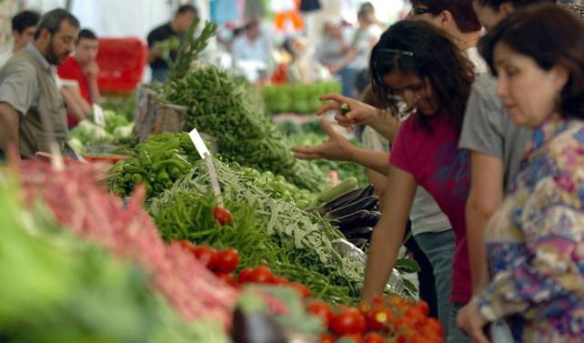 Gıda enflasyonu 4 yılın en düşüğünde
