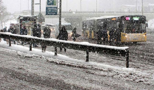 Sibirya soğuğu ve kar geliyor
