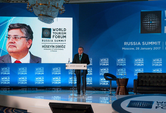 Turizmin kalbi Moskova'da attı