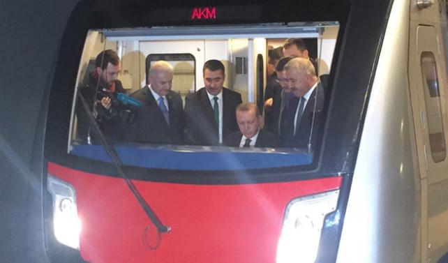 Keçiören Metrosu açıldı