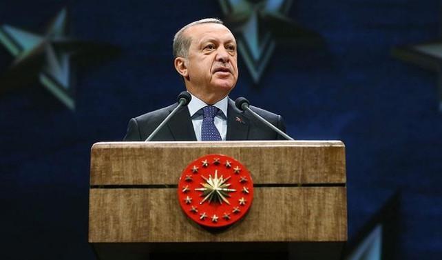 Erdoğan: Dövizler 'ambargo'ya karşı TL'ye çevrildi