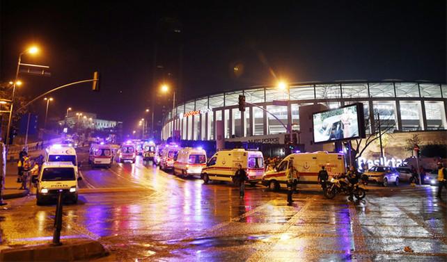 Beşiktaş'taki saldırısıyla ilgili 10 kişi tutuklandı