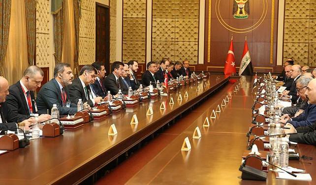 Türkiye ile Irak'tan ortak bildiri