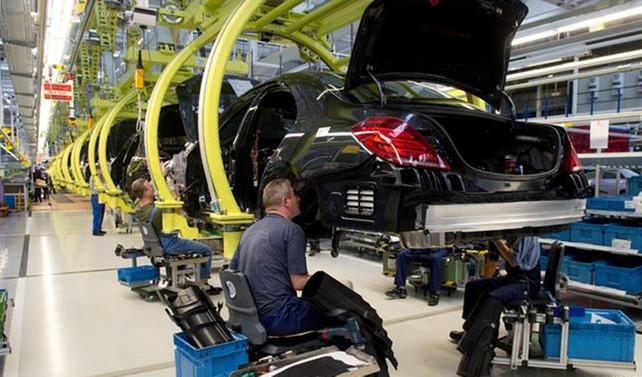 Almanya'da sanayi üretimi yüzde 0,4 arttı