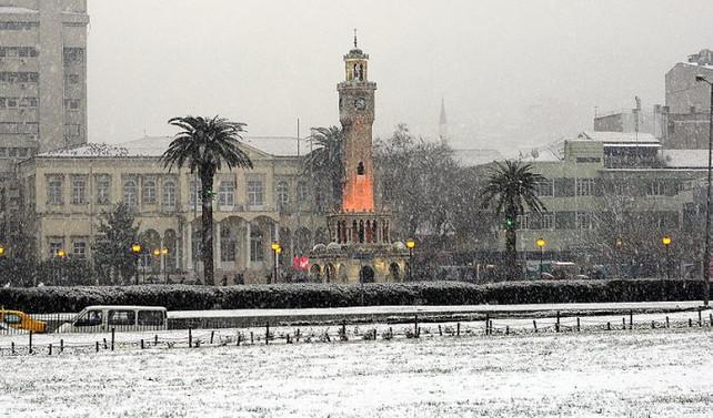Ege'de kar yağışı uyarısı