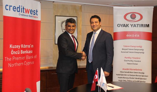 Creditwest ile Oyak Yatırım'dan iş birliği