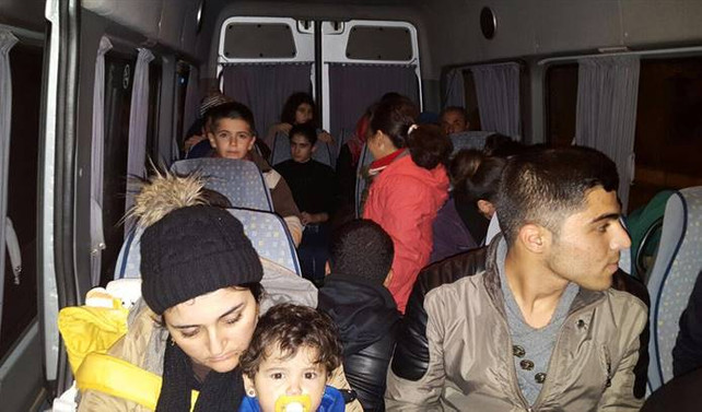 Edirne'de 455 kaçak yakalandı